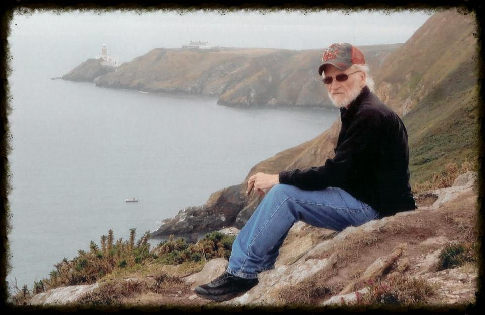 Ron Houchin at Mt. Loop Walk, Howth, Ireland, 2013